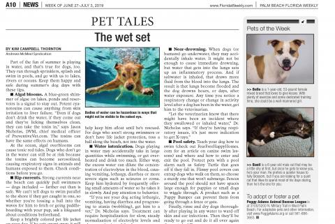 FL Weekly - Pet spotlight - Belle and Basil